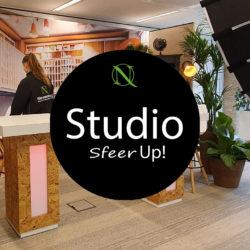 Sfeervolle Livestream studio